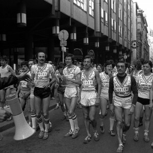 1976 Partenza atleti