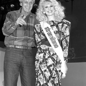 Stramilano 1987, MARIA TERESA RUTA, qui in compagnia di Ottavio Missoni