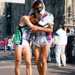 1987 Gelindo Bordin e Orlando Pizzolato